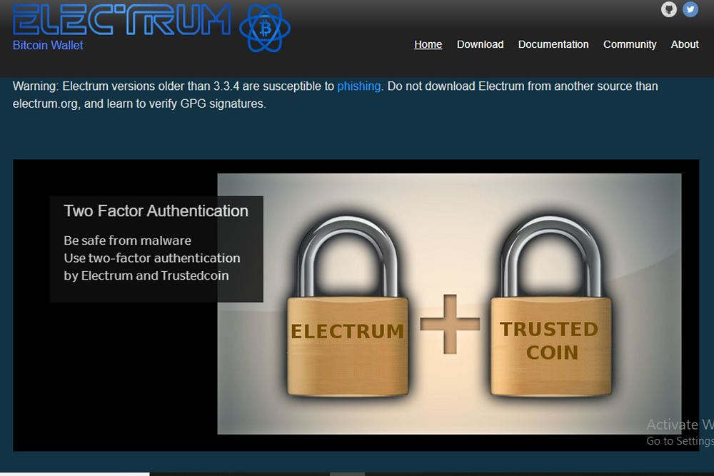 Electrum Bitcoin Wallet