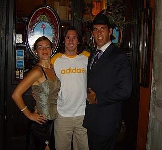 BARCELONA, Spain - 2008, 2009, 2010 With Leo Messi.