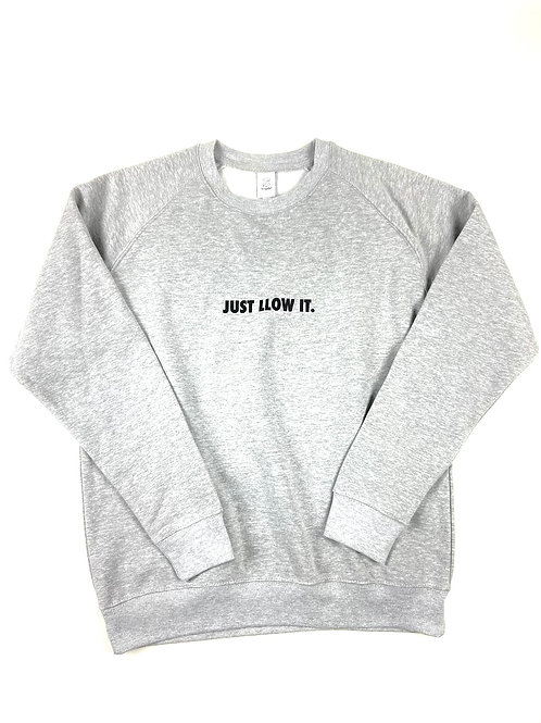 LLOW IT SWEATER (TRACK GREY)