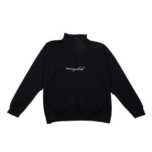Signature 1/4 zip black