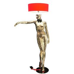 Mannequin Floor Lamp_MIRROR QUEEN
