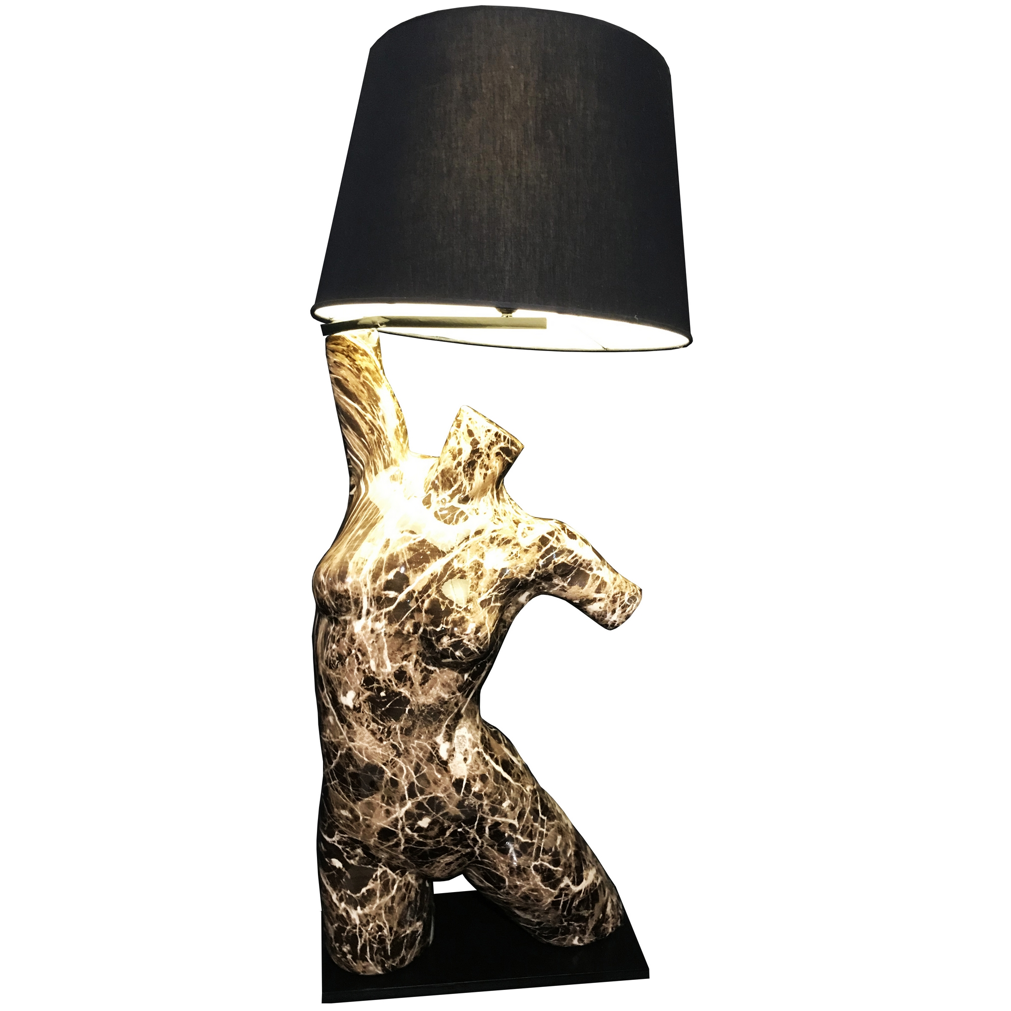 Mannequin Table Lamp_Marble Style