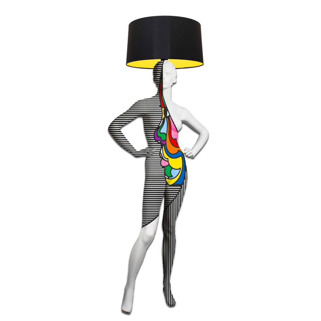 Mannequin Floor Lamp_POP FACE