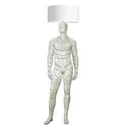 Mannequin Floor Lamp_Male_Cyborg