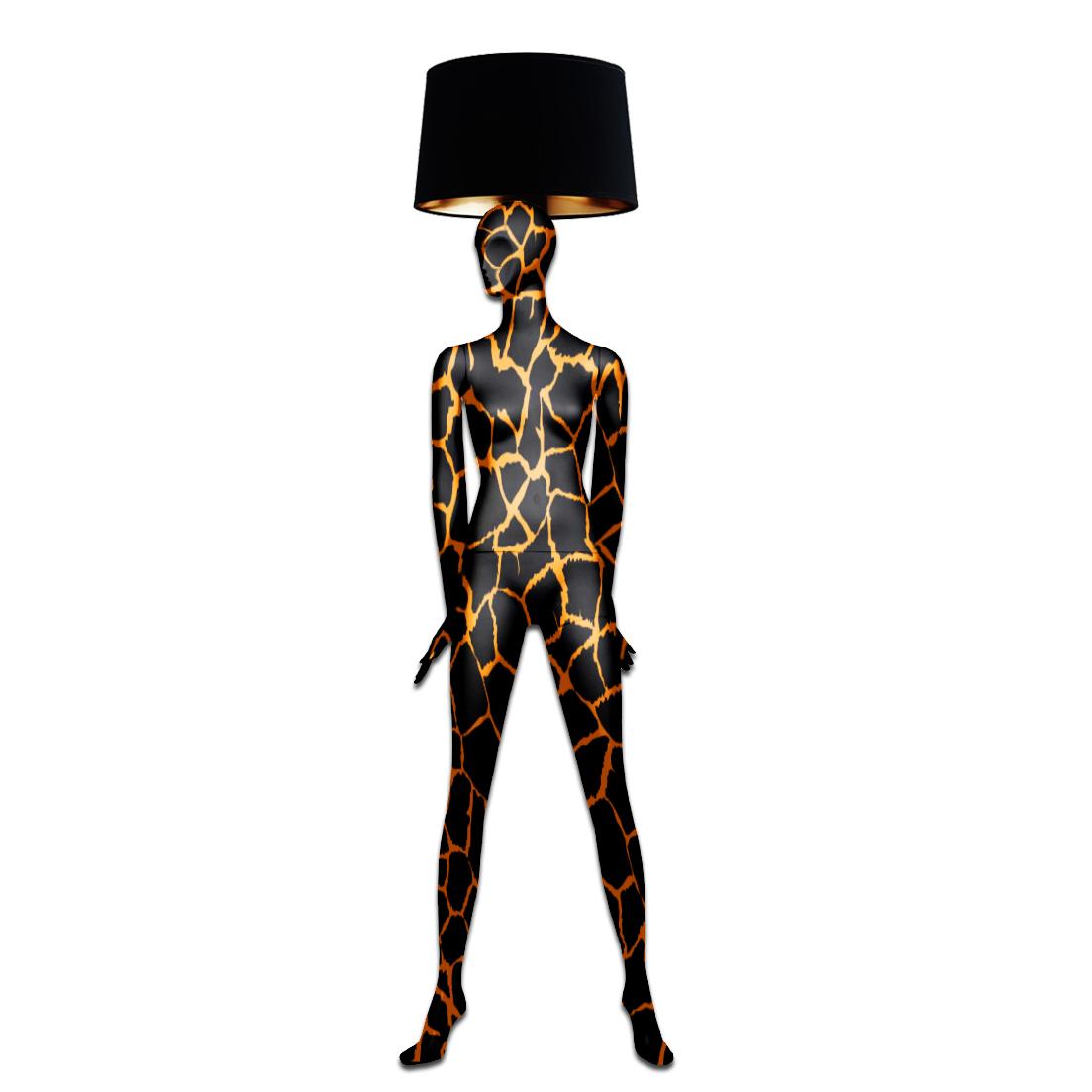 Mannequin Floor Lamp_GOLD VEIN