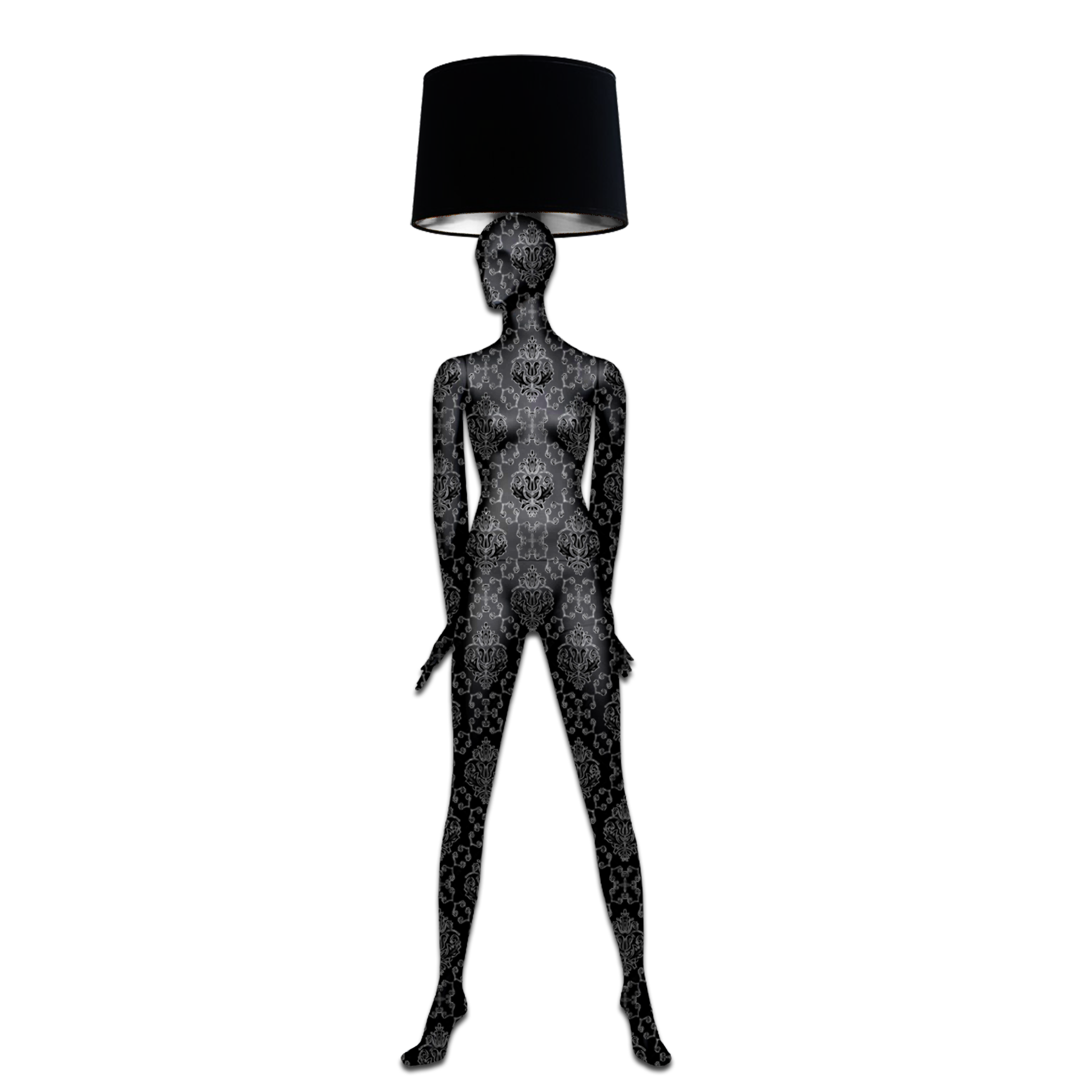 Mannequin Floor Lamp_Alien 1 Baroque