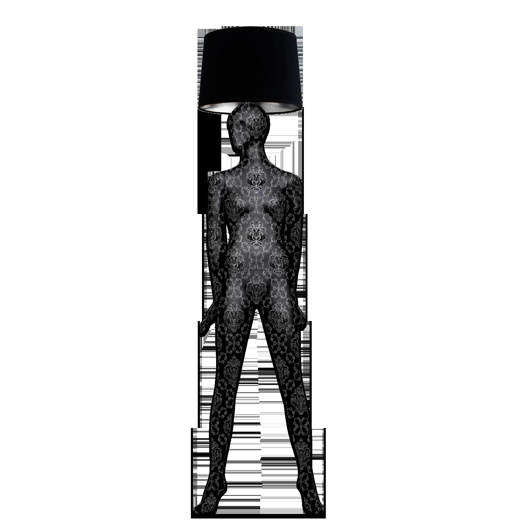 Mannequin Floor Lamp_Alien 1 Baroque