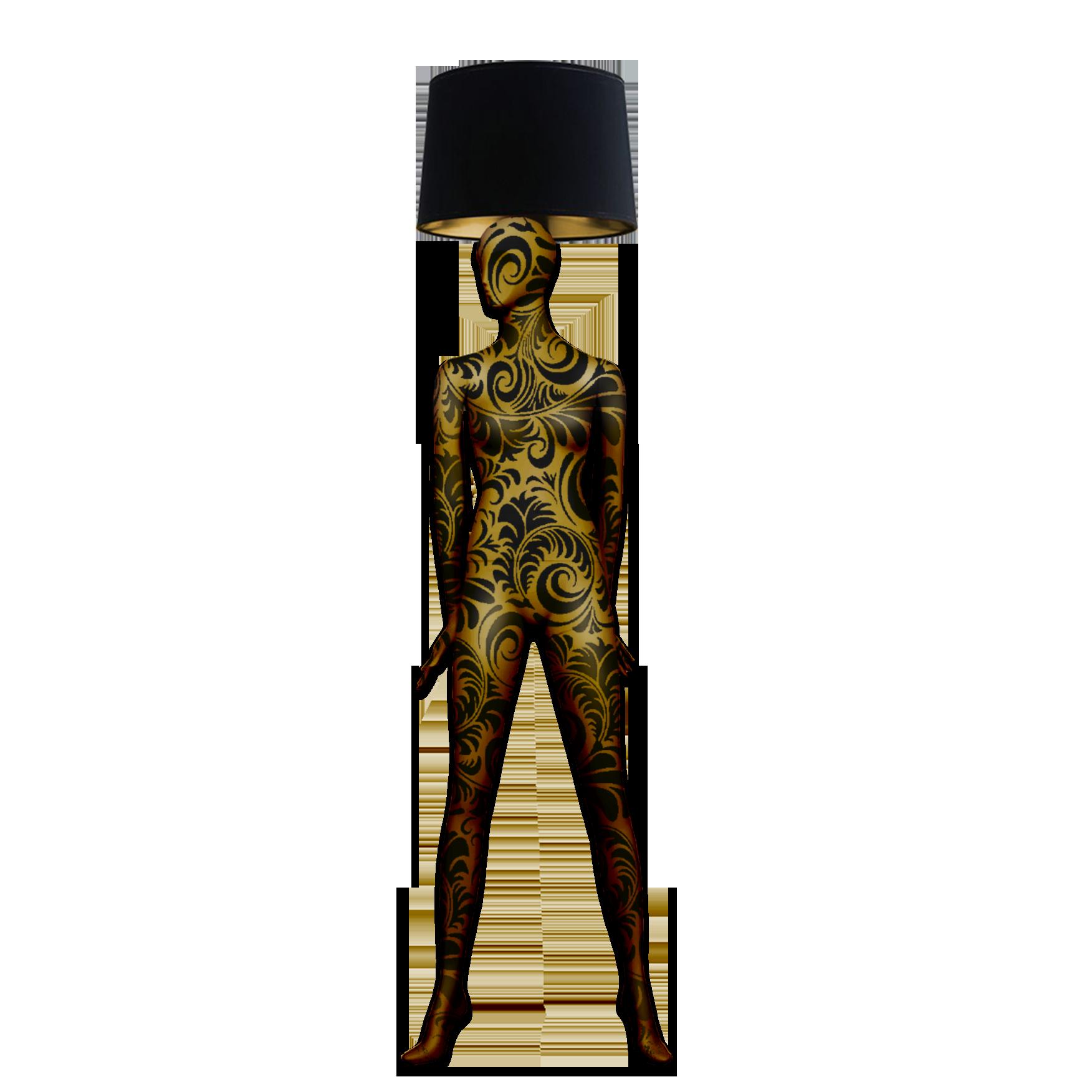 Mannequin Floor Lamp_Alien 2 Baroque 2