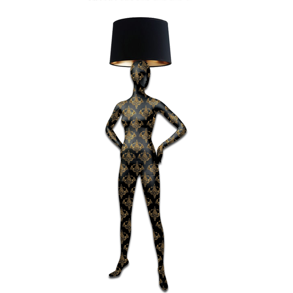 Mannequin Floor Lamp_Alien 2 Baroque