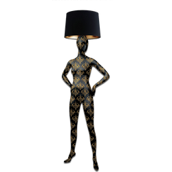 Mannequin Floor Lamp_Alien 2 Baroque