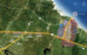 Mapa Localização Áreas Públicas e Privad