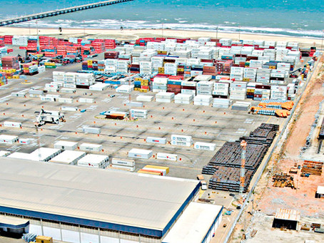 The port of Pecém operations rely on competitiveness and agility