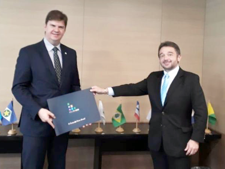 Polo Multimodal Pecém is presented to the Minister of Regional Development of Brazil