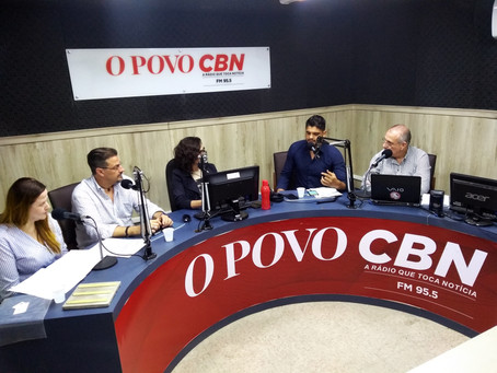 Smart City on the radio CBN with Victor Ghia and Nádia Khaled