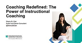 Coaching Redefined:  The Power of Instructional Coaching