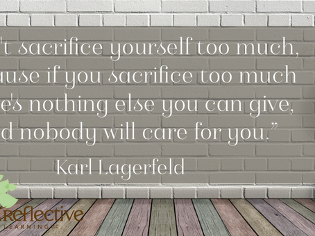 Coaches Are Givers. Self-Care Is Our Fuel.