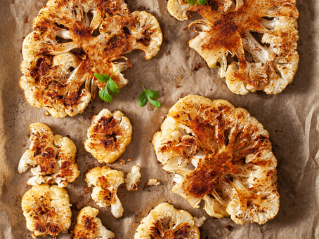Roasted Cauliflower with Brown Butter...where have you been all my life?
