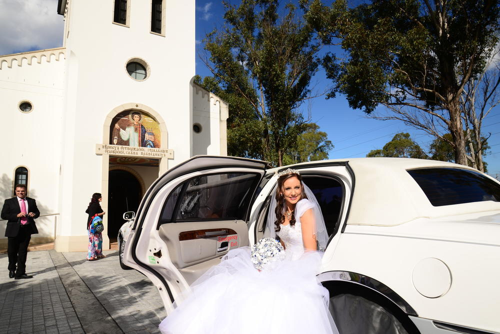 Bride At Church