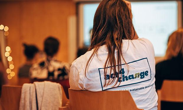 Act4Change vrijwilligers
