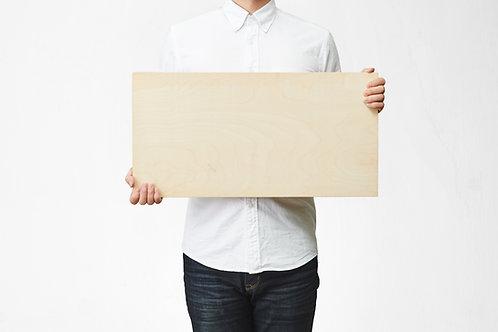 Wooden Picture 30cm×60cm