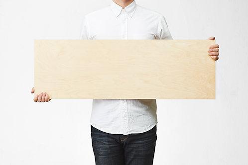 Wooden Picture 30cm×91cm