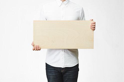 Wooden Picture 25cm×60cm