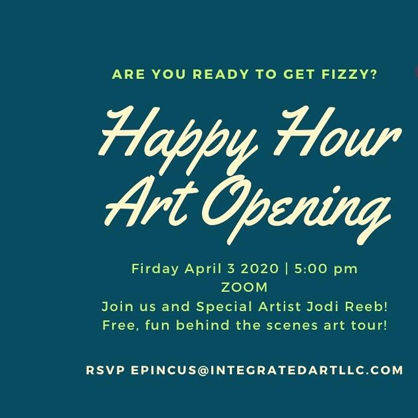 Live Happy Hour Art Opening: Jodi Reeb