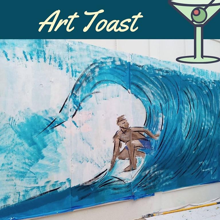 Art Toast: Keysha Mabra & Carrie Morgan