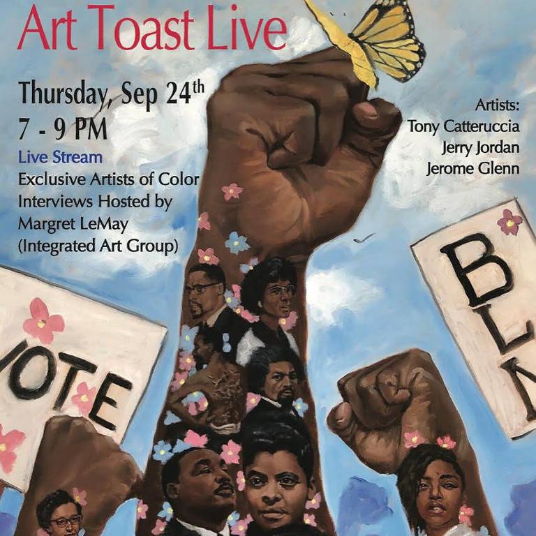 Art Toast: Tony Catteruccia, Jerry Jordan & Jerome Glenn