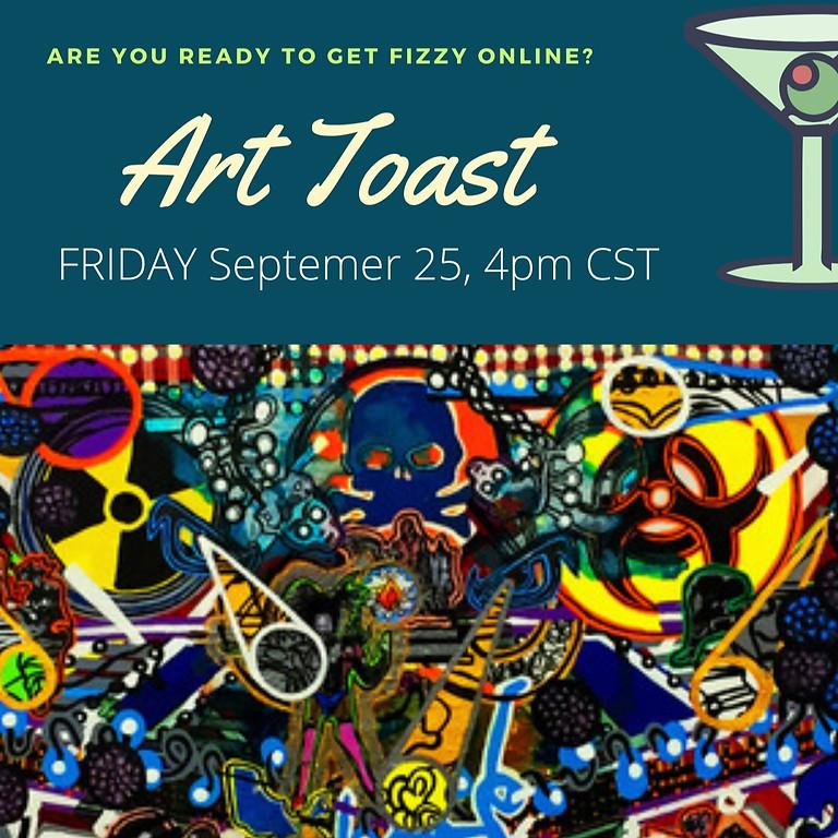 Art Toast: Al Johnson, Femi J Johnson & Anthony Smith
