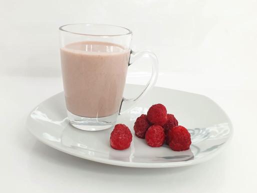 LAIT FRAMBOISE ONCTUEUX sans lactose