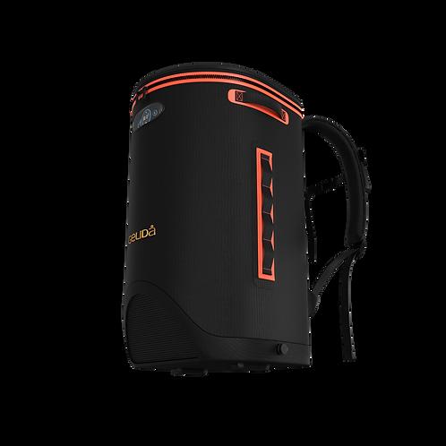 Fridgus Bullet Black Water Resistant Backpack