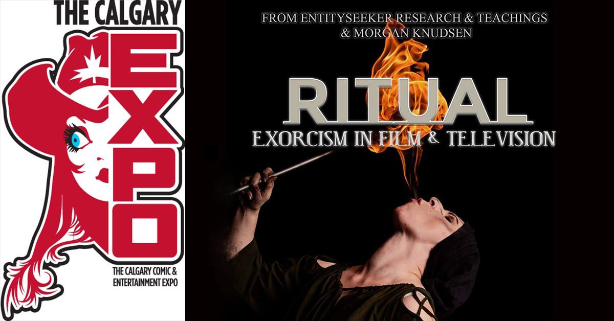 Calgary Comic Expo poster for RITUAL
