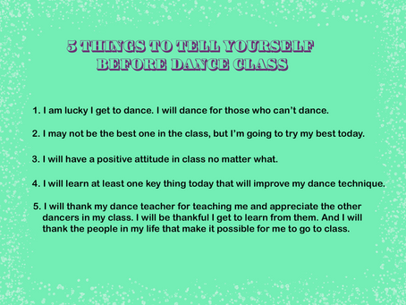 5 Important Dance Lessons