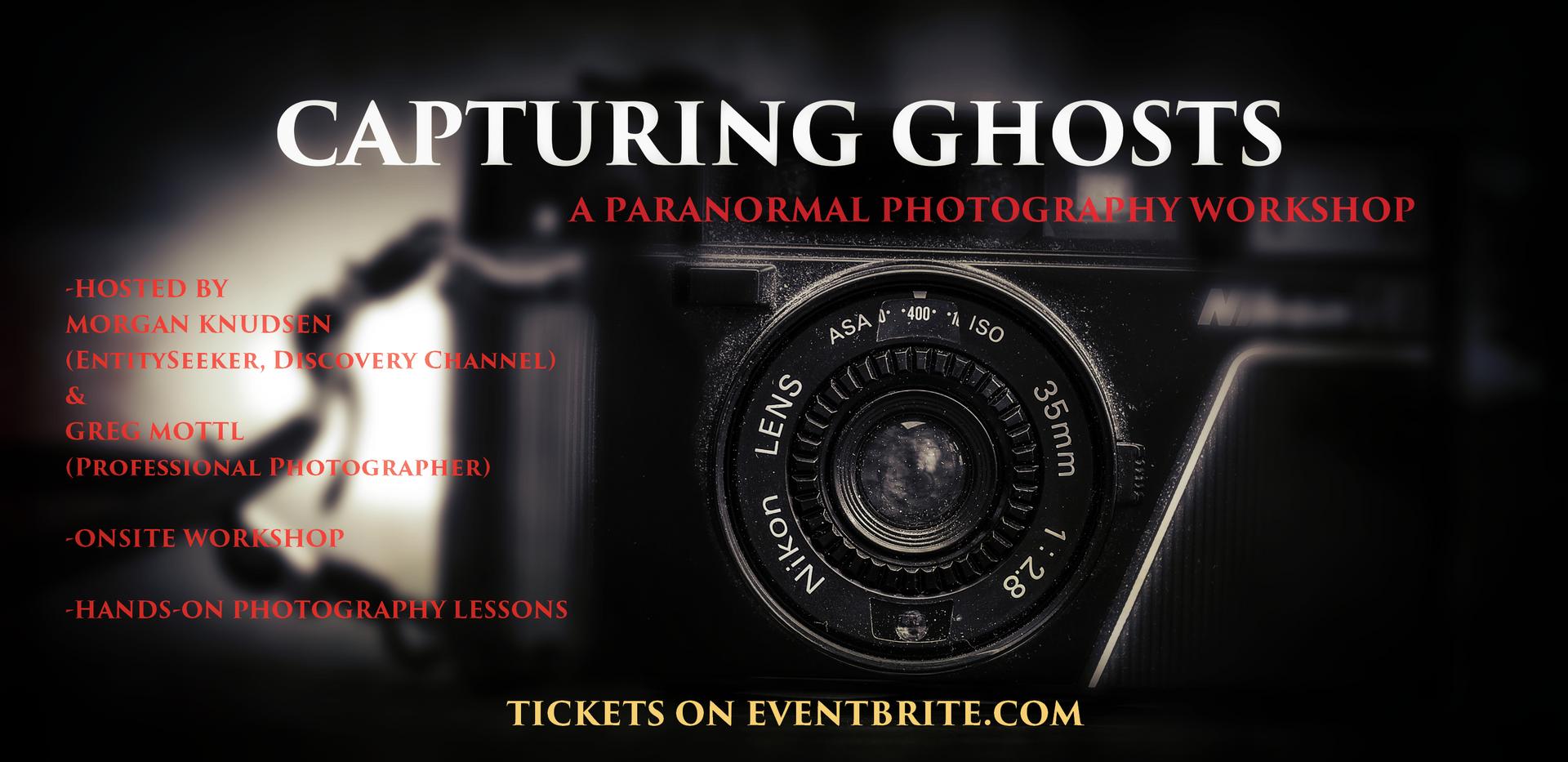 Capturing Ghosts workshop poster
