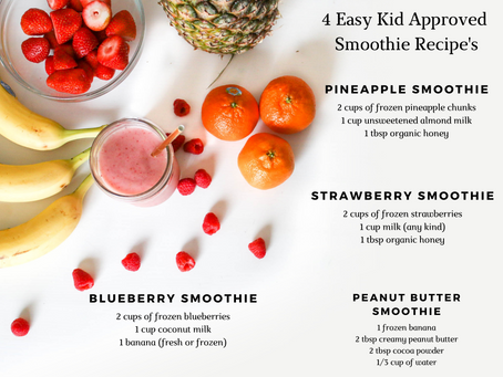 Healthy Tasty Kid Smoothies