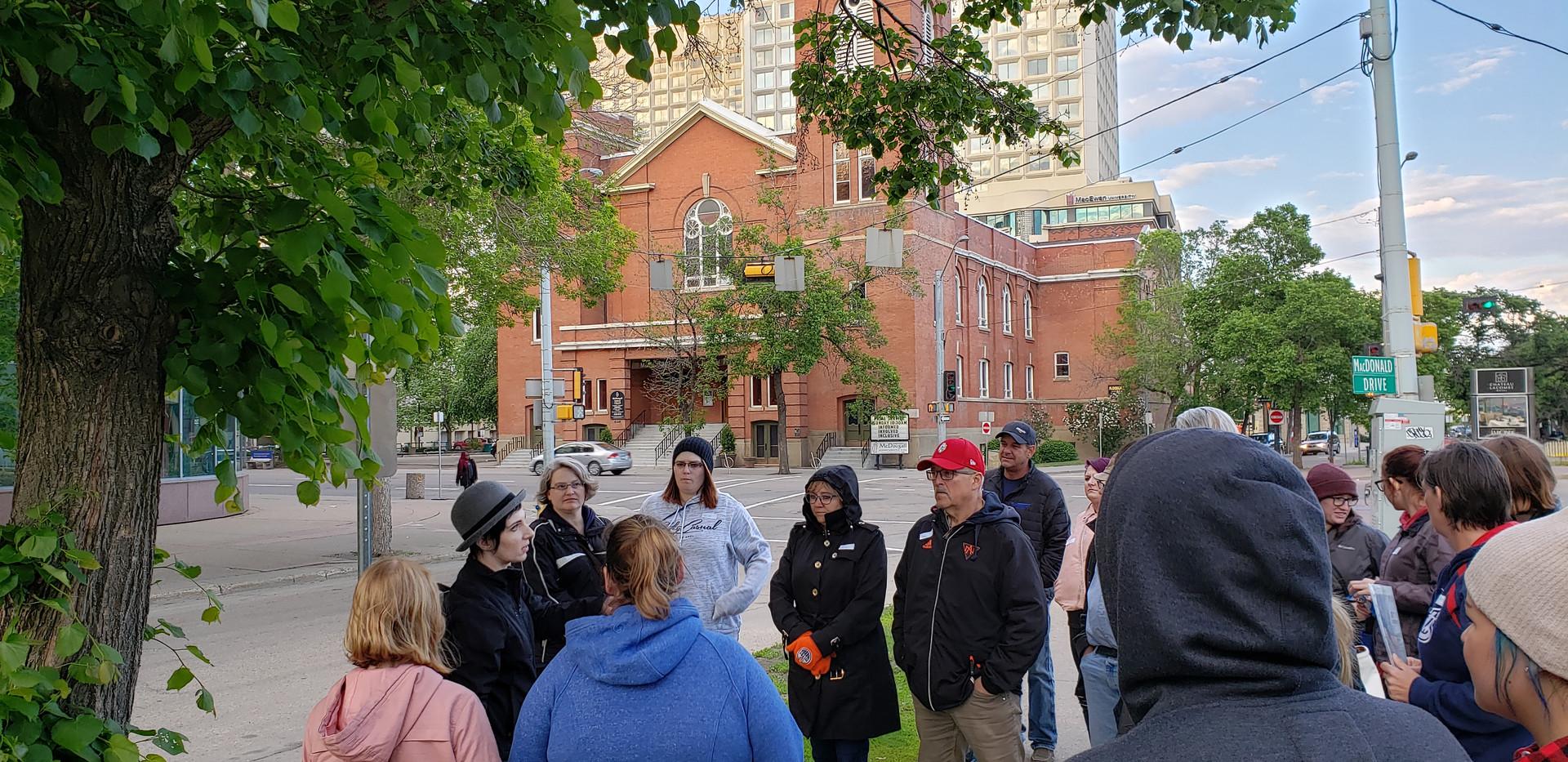 Walking Classrooms in Edmonton, Alberta