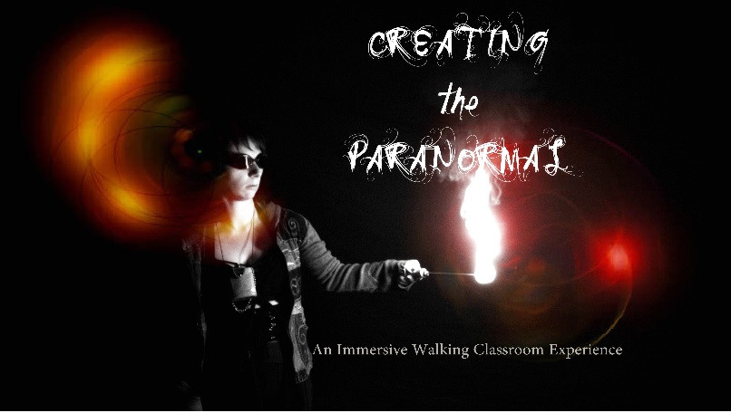 Creating the Paranormal walking classroom poster