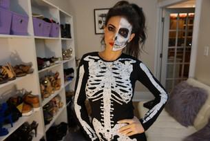 Even skeletons must eat: Halloween 2017