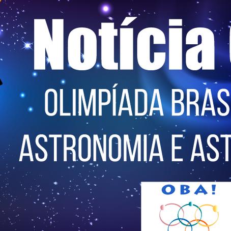 Gammon é medalhista na Olimpíada Brasileira de Astronomia e Astronáutica