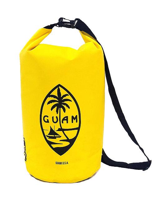 15L Yelllow Guam Seal Design DryBag