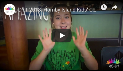DYT shows what Hornby Island Kids Camp i