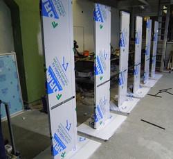 Рекламные стойки из АКП