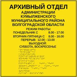Дизайн таблички