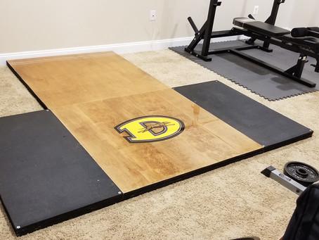 Downingtown Home Gym Custom Platform
