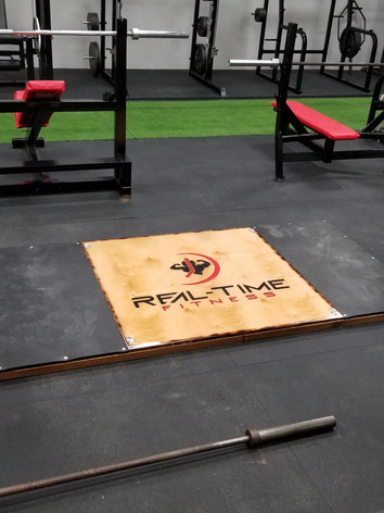 Real Time Fitness 4x8