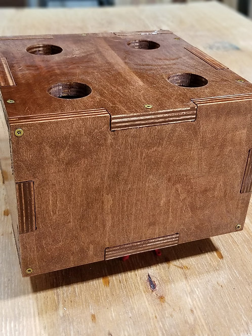 4 Bar Barbell Box