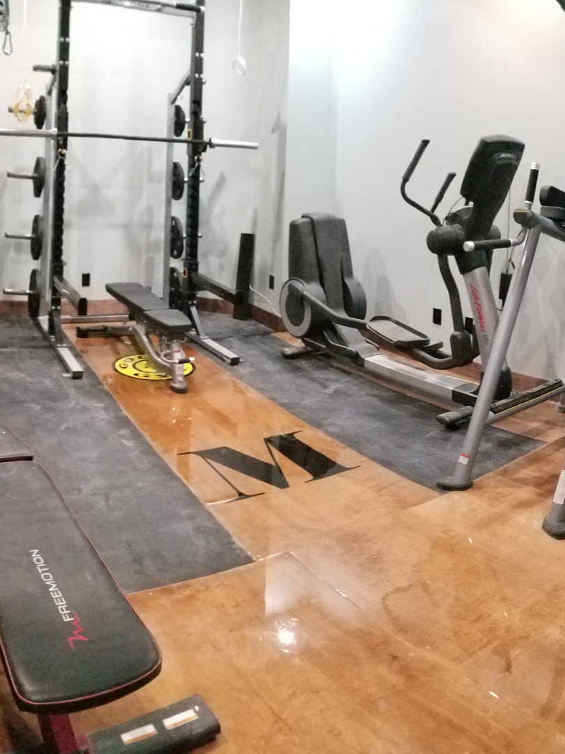 M Basement gym