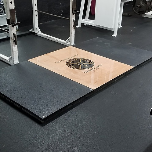 4x8 Custom Deadlift Platform