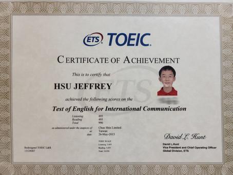 我如何教出14 歲多益TOEIC 990分(滿分)的學生
